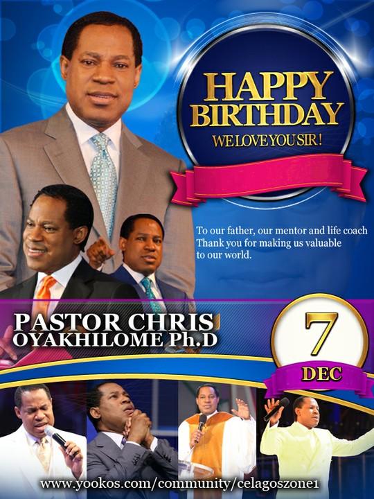 Celebrating An Icon Happy Birthday To Pastor Chris Oyakhilome Religion 2 Nigeria