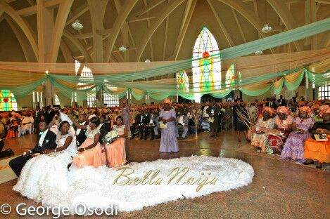 Check Out The Most Expensive Nigerian Wedding Of 2014  Celebrities  Nigeria