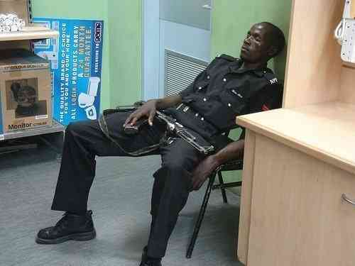Sleeping On Duty Jokes Etc Nigeria