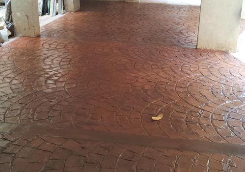 American Concrete Stamp Floor In Nigeria Call 08180008870
