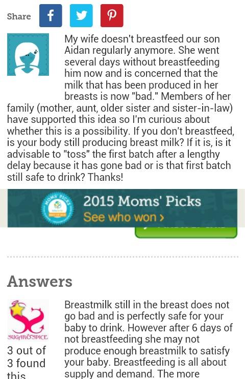 Does Breastmilk Go Bad In The bosom? - Health - Nigeria