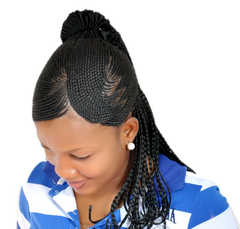How To Style Single Braids And Pix Of Different Hot Styles Of