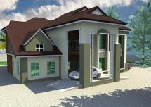 Architectural Design Duplex House In Nigeria