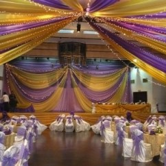 Cheap Chair Cover Decorations Ben Franklin Hall Decoration With 300 Chairs Covered For Just N75,000! - Events Nigeria