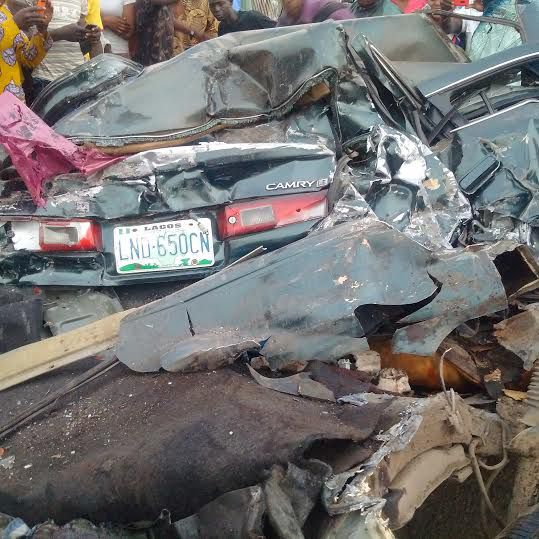 Graphic Photos Fatal Accident Along Oshodiapapa