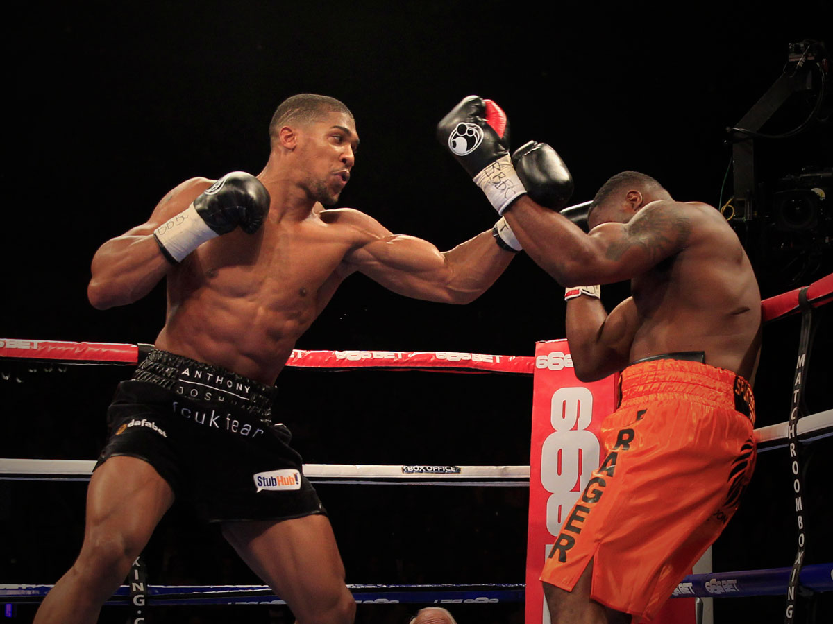Boxing Ring Wallpaper Hd Nigerian Born Anthony Joshua Becomes British Heavyweight