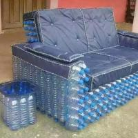 Innovative Nigeria Made Water Bottle Chair/side stool ...