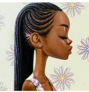 stylish ghana braids ideas