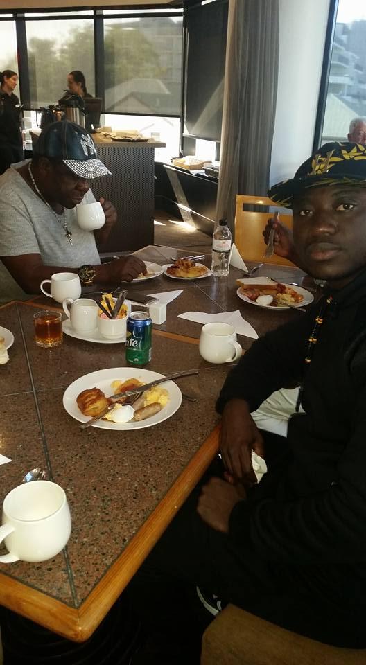 MR Ibu Having Breakfast In Australia (pics) - Celebrities - Nigeria
