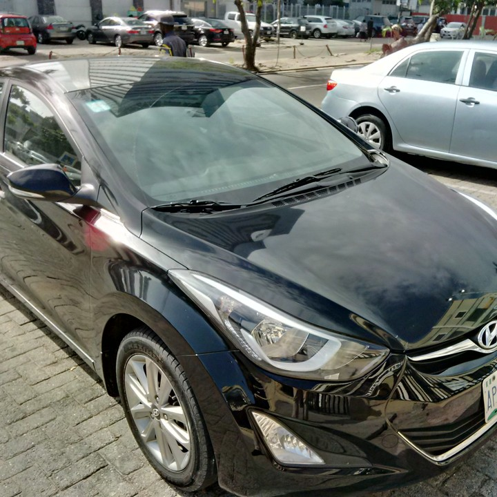 brand new toyota camry muscle diskon grand avanza 2018 hyundai elantra (late 2014 model) registered - autos nigeria