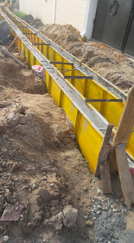 Steel Formwork For Drainage And Raft Foundation