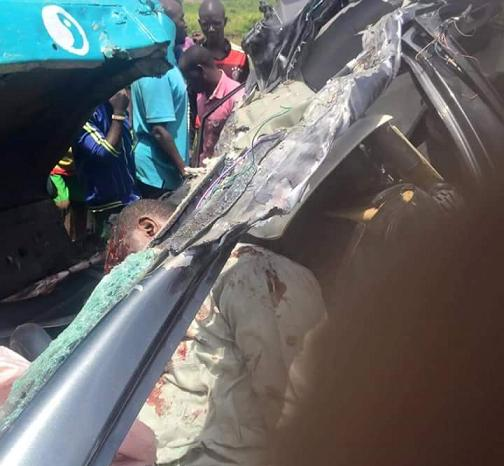 Graphic Photos 4 Dies In Fatal Accident Along Kaduna Toll