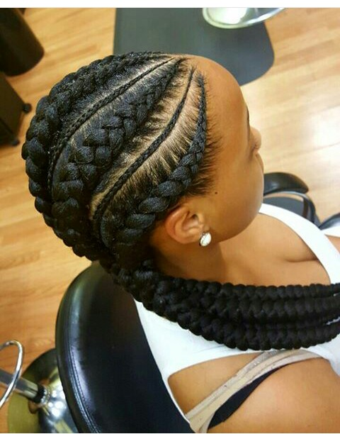 10 Latest And Stunning Ghana Braids With Pictures