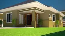 Ghana 3 Bedroom House Plans