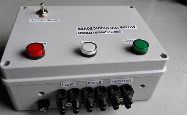 16a Miniature Automatic Changeover Ats N12 000 Only