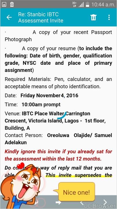 Fresh Nationwide Stanbic IBTC Graduate Trainee Recruitment Program - Jobs/Vacancies (21) - Nigeria