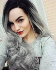hair color ideas gray