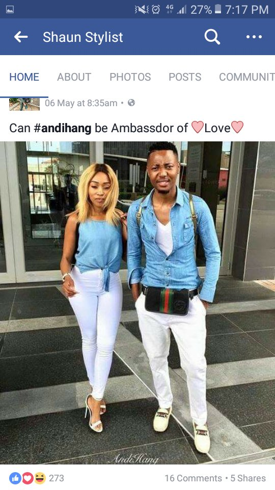 Between A South African Lady Her Exboyfriend And Her New