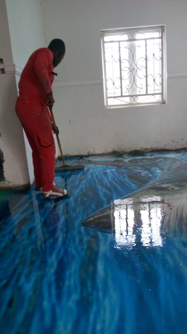Nigeria 3D Floor Tiles Wallpapers Abuja Lagos Epoxy