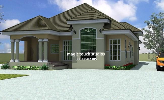 Modern Bungalow Design In Nigeria