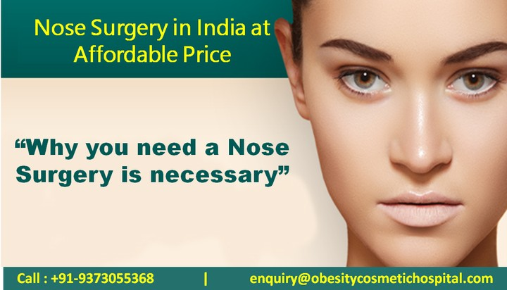Nose Surgery In India At Affordable Price - Health - Nigeria