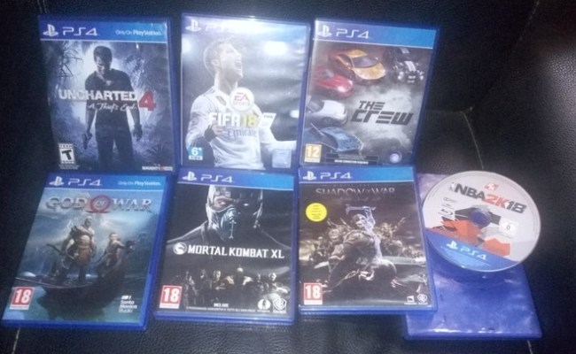 Ps4 Games Exchange Gaming 221 Nigeria