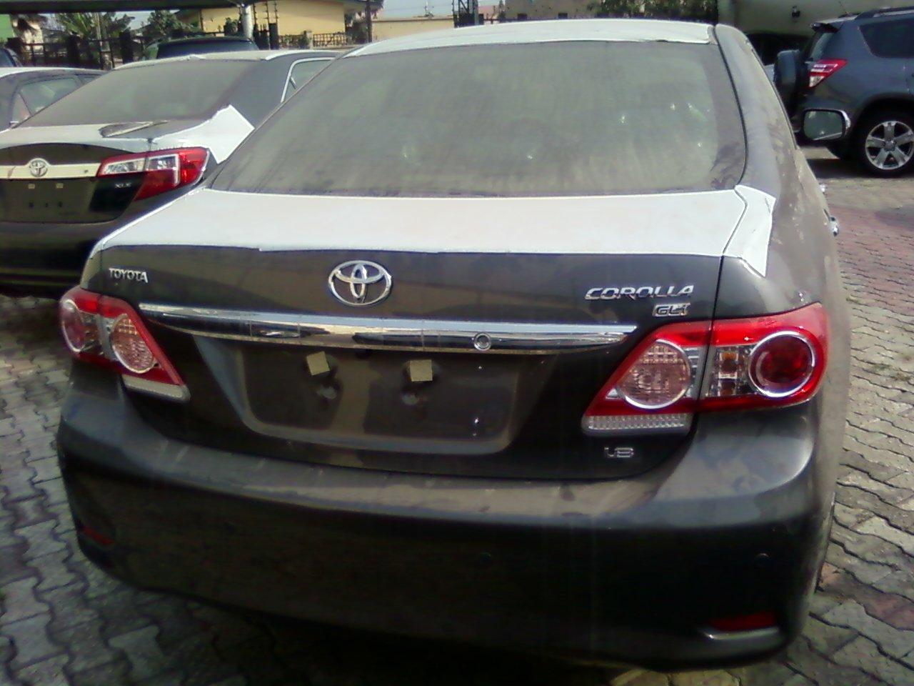 brand new toyota camry price in nigeria vellfire malaysia a 2013 corola gli for sale 5m