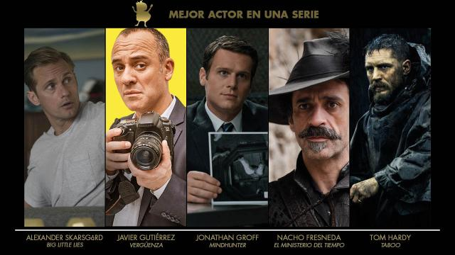 Blogos de oro 2018 - Actor serie