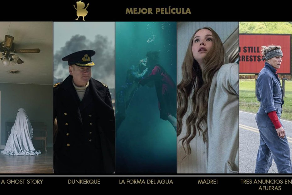 Blogos de oro 2018 - Película