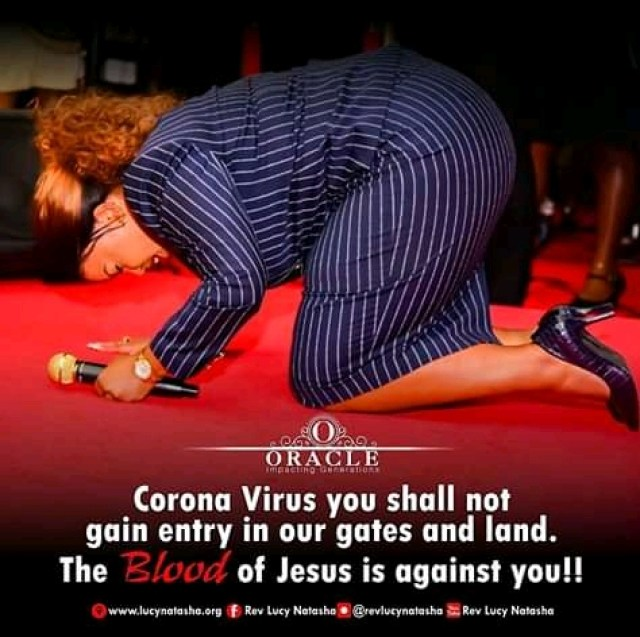 Prayer is the Only Weapon To save Kenyans from the deadly Coronavirus - Rev Lucy Natasha 2