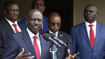 DP Ruto Reveal People Who Want Him Out of Jubilee Party