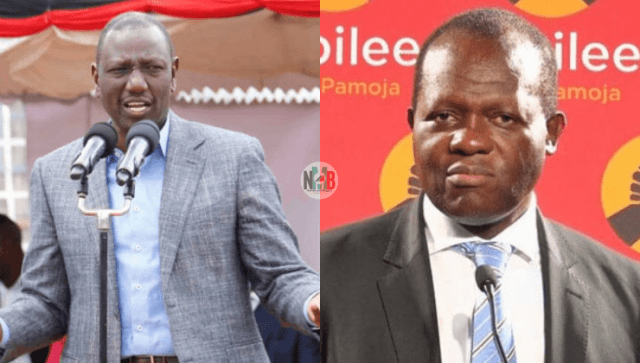 Ruto Total Banned From Accessing Jubilee's HQ