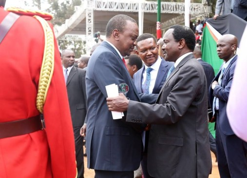 Kalonzo Reveals The Following After Pres Uhuru Expressed His Interest To Become The Prime Minister