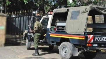 Panic in Awendo As A Couple with Missing Body Parts Are Found In Their Car Near a Police Station