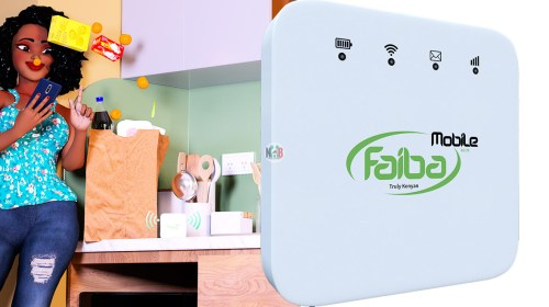 Faiba 4G SIM cards and MiFis Shops Countrywide