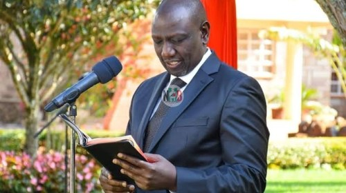William Ruto Late Night Condolences Message by Cause a Stir Online.