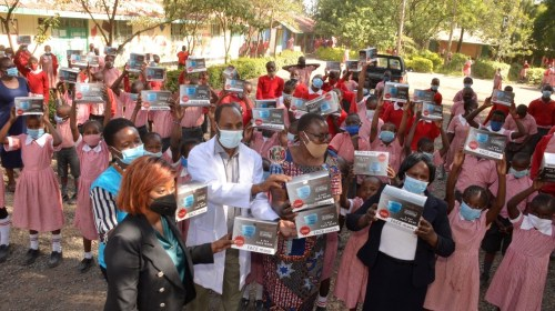 Nairobi Metropolitan Services Begins Distribution Of Face Masks To Schools