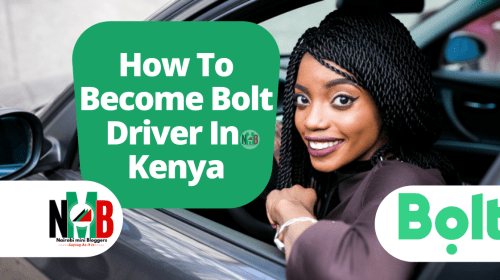Become Bolt Driver In Kenya.