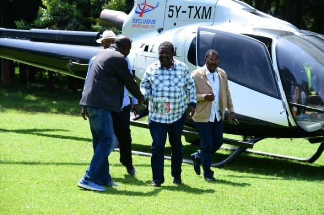 Kenyan Politicians Who Owns helicopters