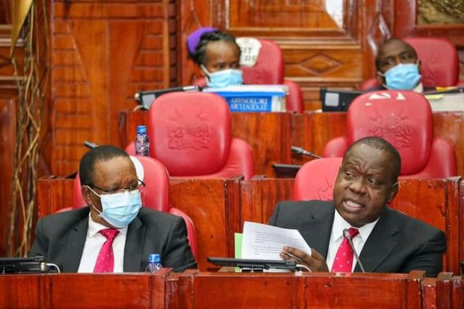 Junet Mohammed Names Real Owners Of Mutara Farm Believed To Be DP Ruto's. Cabinet Secretary Fred Matiang'i
