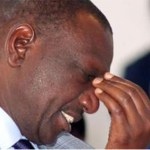 William ruto crying