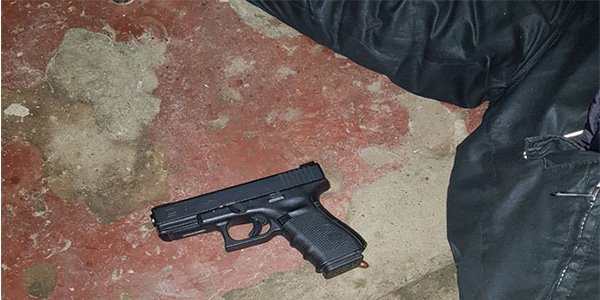 police gunned downed