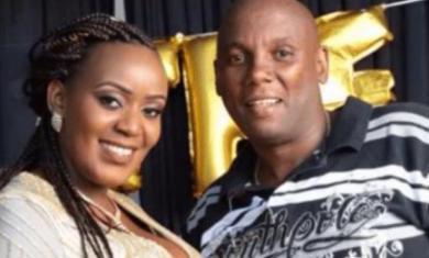 Kiambu Businessman Jonathan Mukundi Gachunga right and his wife Philomena Njeri.