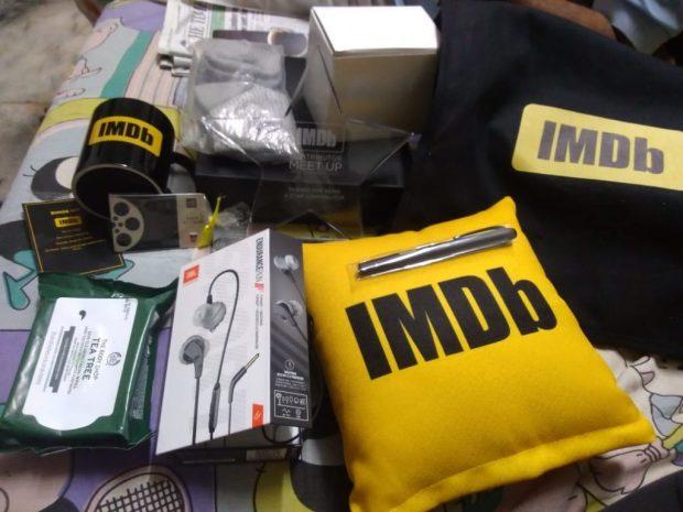 IMDb 2018 merchandise
