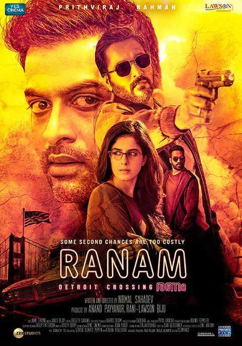 Ranam Malayalam film poster