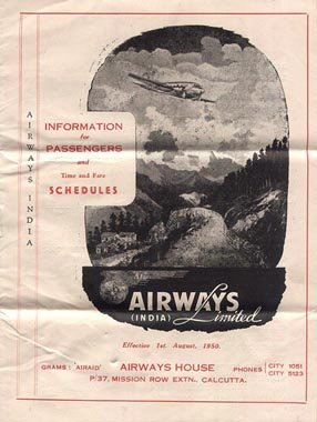 Airways India Limited 1950