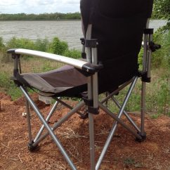 Oztent King Kokoda Chair Review Beach With Footrest Ltd Naive Nomads Camping