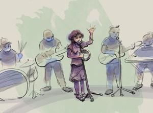 Illustration – Band (COAH project)