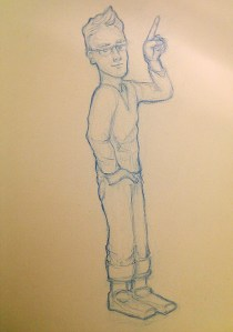 Character #2 – sketches