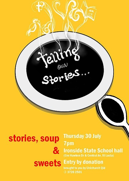Soup and Stories – Poster Illustration and Design